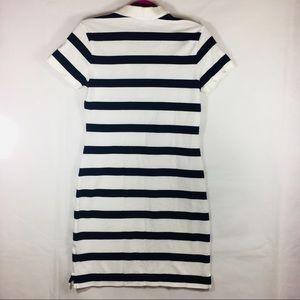 Ralph Lauren Dresses - Ralph Lauren Navy & White Stripe Polo Dress